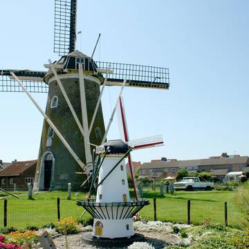 Historische windmolen Zoutelande Aparthotel Zoutelande