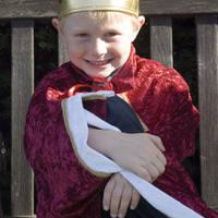 Jongetje als koning
