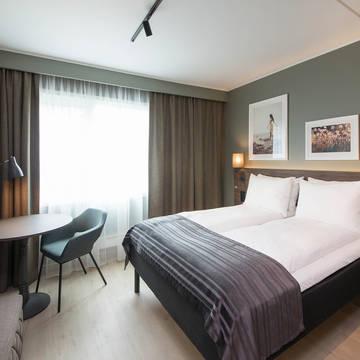 Kamer Economy Queen Scandic Sjølyst Hotel