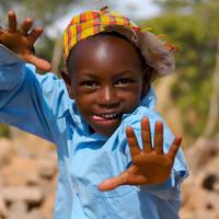 Zuid-Afrikaans kindje