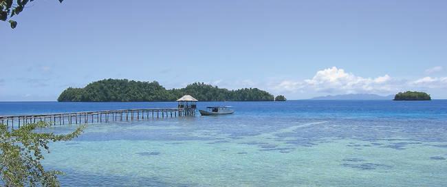 Strand van Sulawesi