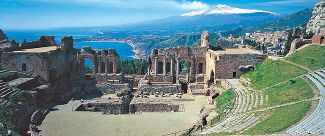 Sfeer Kleurrijk Sicilië