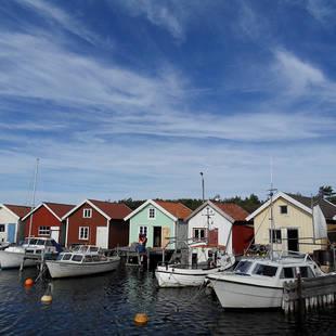 Boothuisjes Zweden - Foto: Fredrik Broman