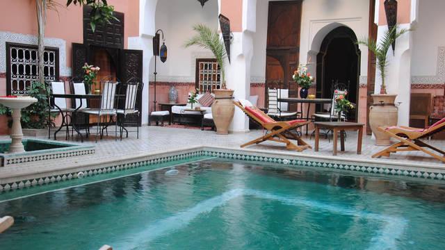 Zwembad Pension Riad Barroko