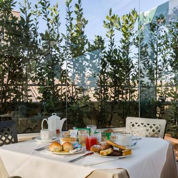 Ontbijt Hotel Domus Sessoriana
