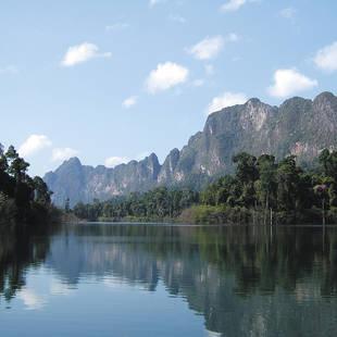 Khao Sok meer