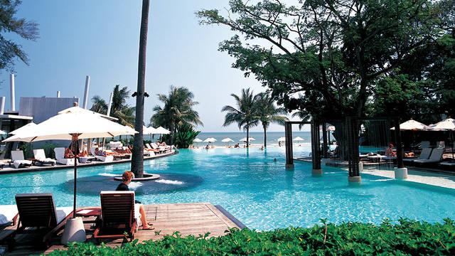 Zwembad met terras Veranda Resort Hua Hin - Cha-Am