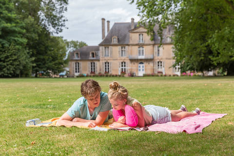 Super vakantiehuisje Normandië 🏕️Camping Chateau de Martragny