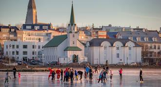 Reykjavik schaatsen