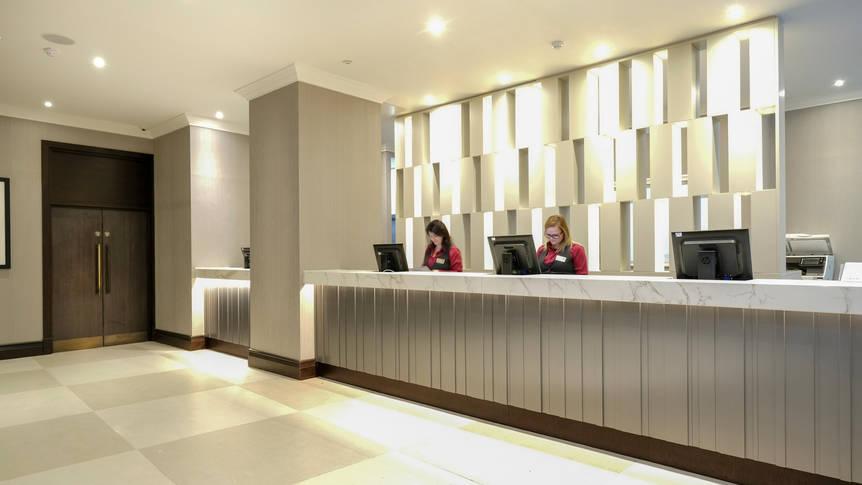 Receptie Hotel President