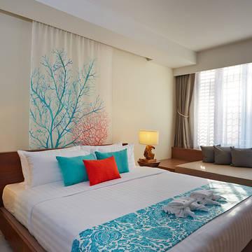 Bandara Phuket Beach Resort - Voorbeeld Deluxe Kamer Bandara Phuket Beach Resort