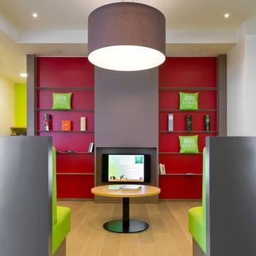 Lounge Hotel Ibis Styles Zeebrugge