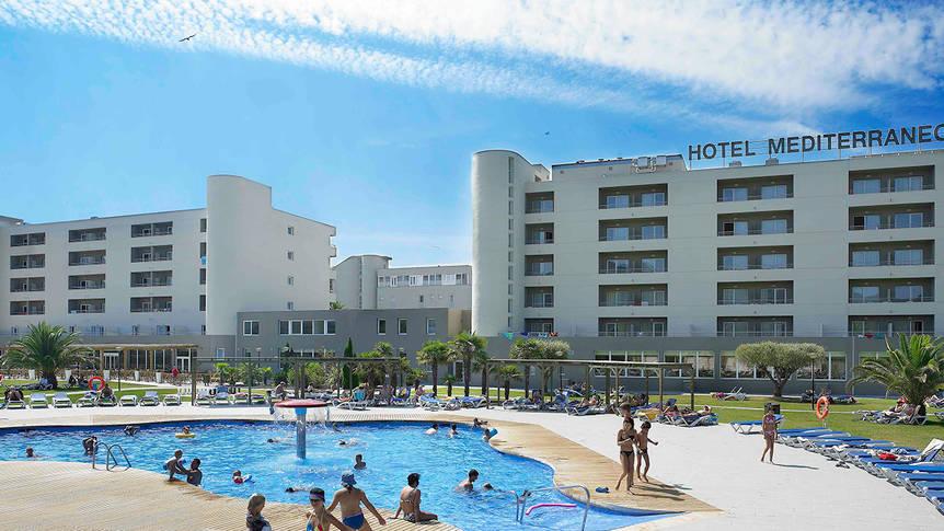 Overzicht Hotel Mediterraneo & Mediterraneo Park