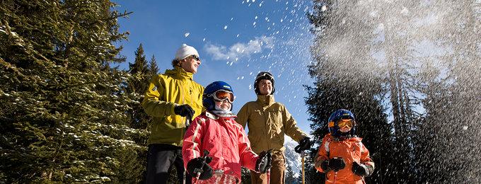 Wintersport Lermoos