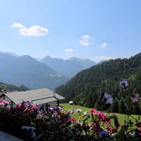 Uitzicht vanaf een balkon