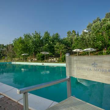 Zwembad 3 Appartementen Tenuta Moriano