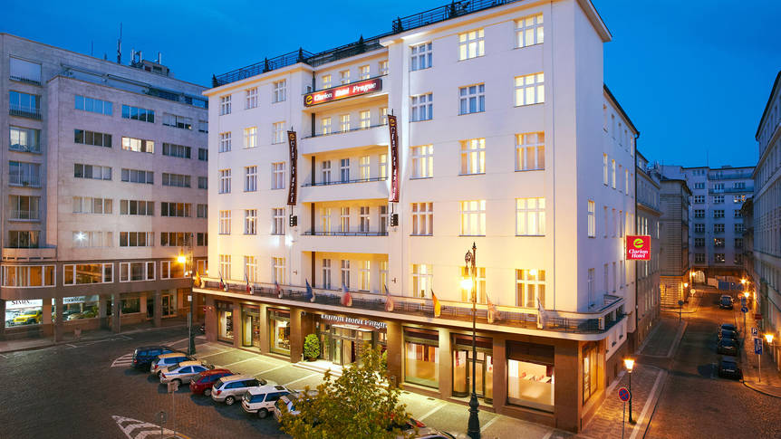 Extrieur Hotel Clarion Prague Old Town