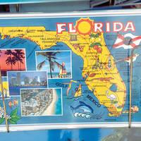 Florida kaart
