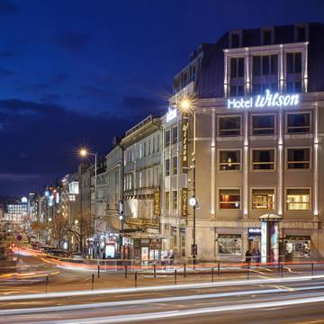 Exterieur Hotel Occidental Praha Wilson