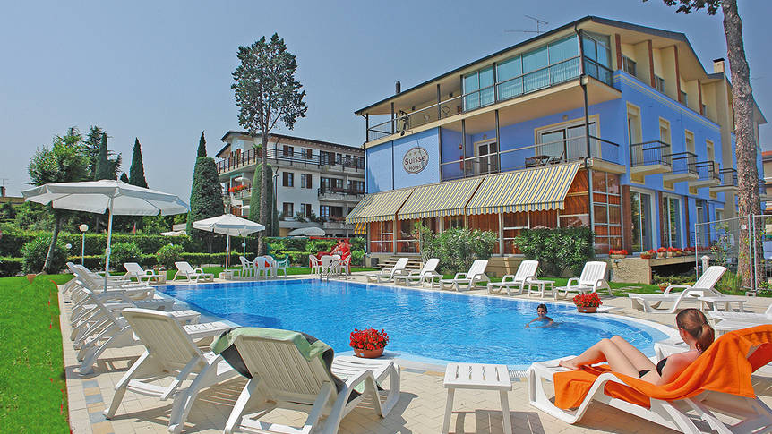 Zwembad Hotel Suisse