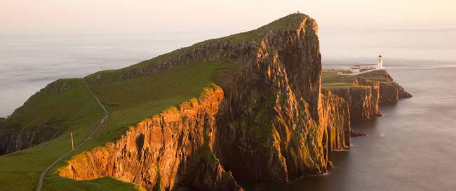 Isle of Skye in ondergaande zon