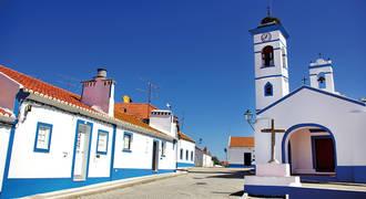 dorpje in Alentejo
