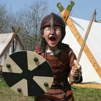 Jongetje als viking
