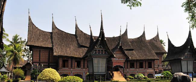 Minangkabau dorp