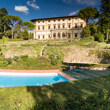 Zwembad Villa Pitiana
