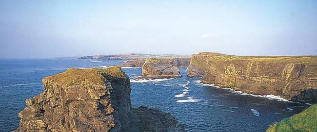 Kliffen bij Kilkee