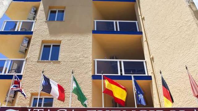 Hotel voorkant Hotel Itaca Fuengirola