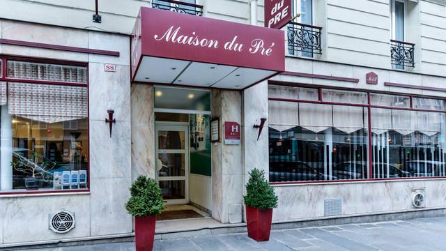 Entree Hotel Maison du Pré