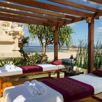 Massage bij het strand