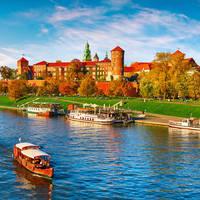 Wawel kasteel, op ca. 13 minuten lopen van uw hotel!