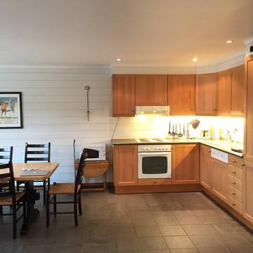 Keuken Appartementen Skarsnuten Fjellandsby