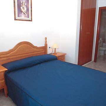 Slaapkamer voorbeeld Appartementen Village Park