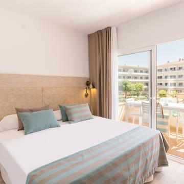 Voorbeeld slaapkamer Appartementen Pierre et Vacances Estartit Playa