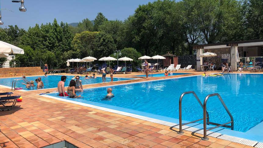 Zwembad Hotel Iseo Lago
