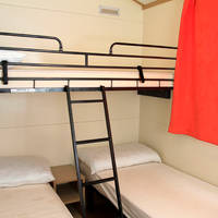 Tweede slaapkamer 3-kamerstacaravan