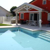 Albarella - voorbeeld villa met zwembad