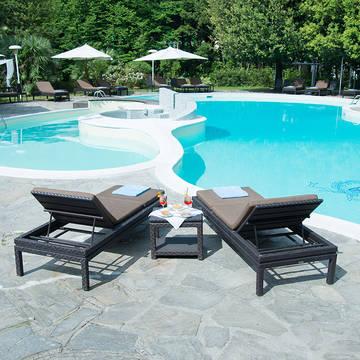 Zwembad2 Grand Hotel & La Pace