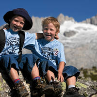 Plezier op de berg