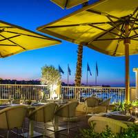 Restaurant Giuseppi's terras