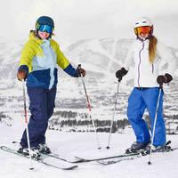 Twee skisters - Fotograaf: Emile Holba