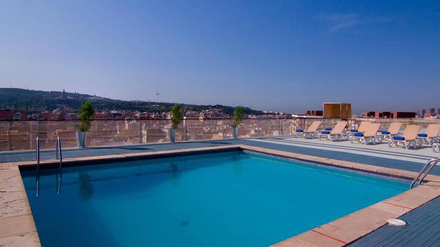Zwembad Hotel Expo Barcelona