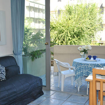 Voorbeeld woonkamer Residence Du Parc