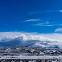 Uitzicht op de Hekla vulkaan