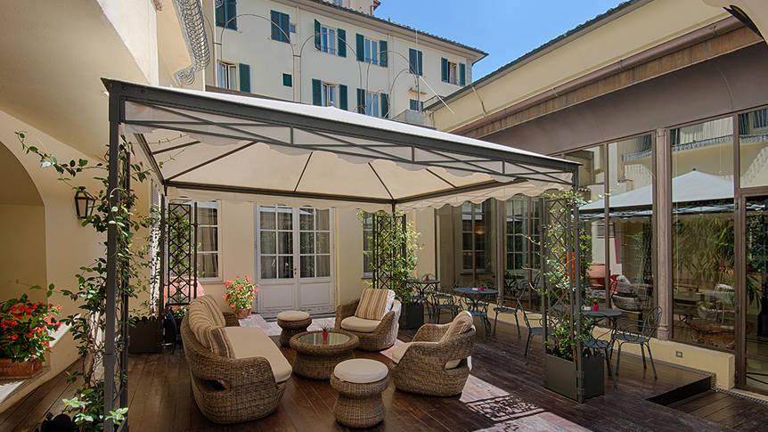 Terras Hotel NH Firenze Anglo American