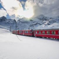 8-daagse bus- en treinrondreis Wintersfeer met de Glacier- en Bernina Express
