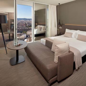Kamer Hotel The Level at Melia Barcelona Sky